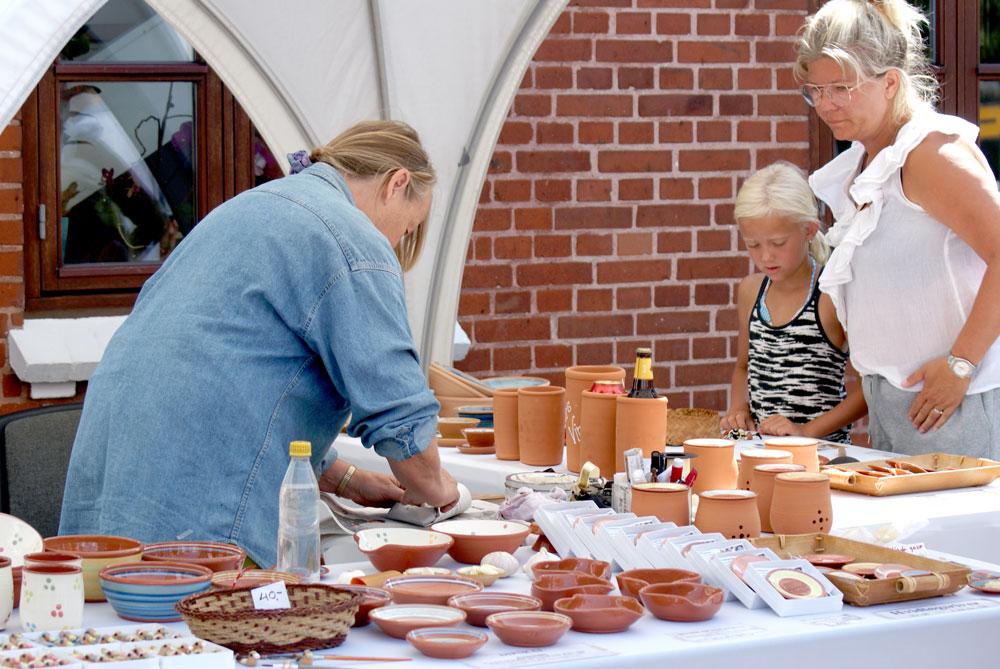 Kunst- og kunsthåndværker-marked Pottemageren Juelsminde