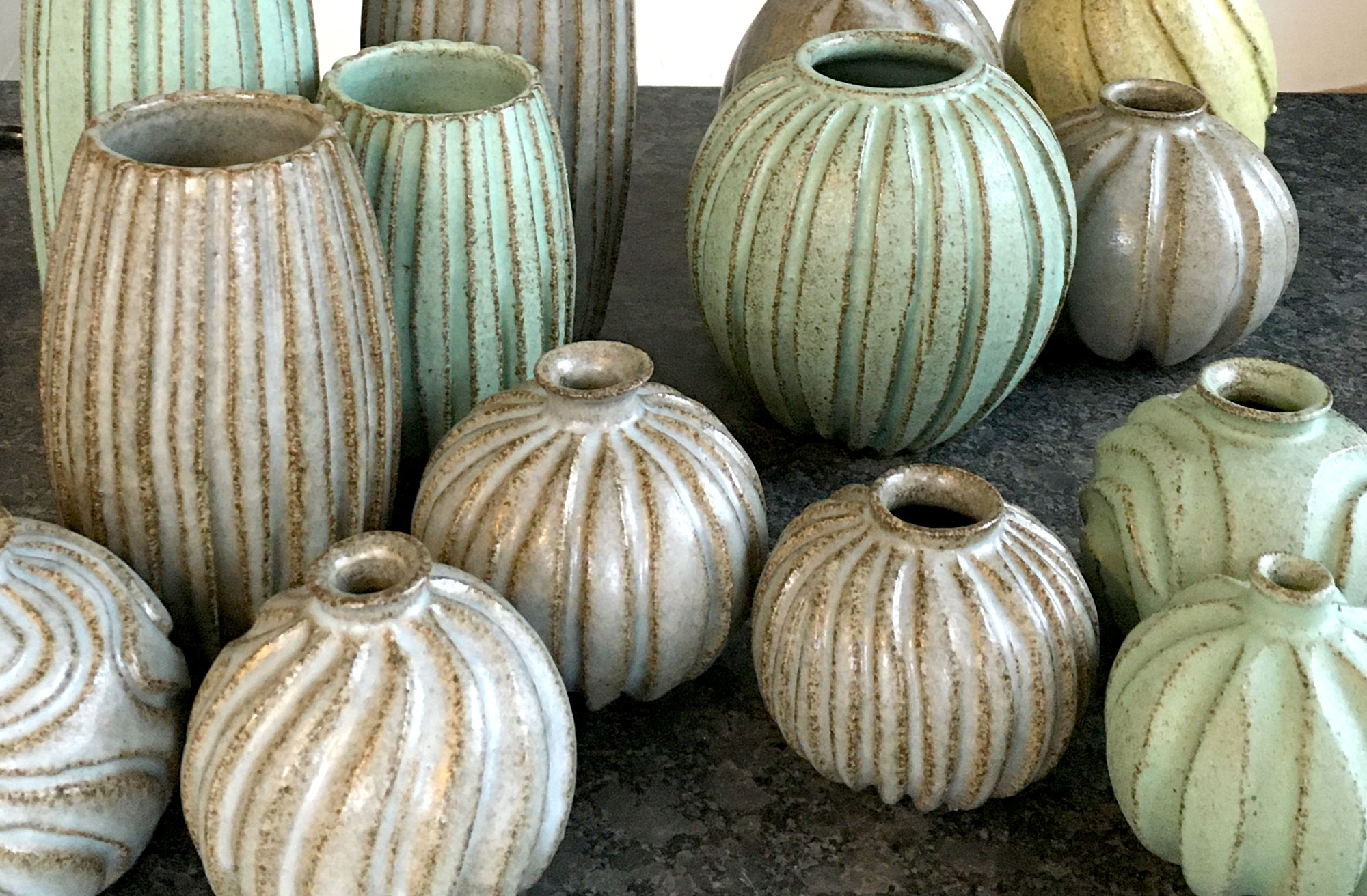 Pottemageren Juelsminde vaser stentøj keramik butik